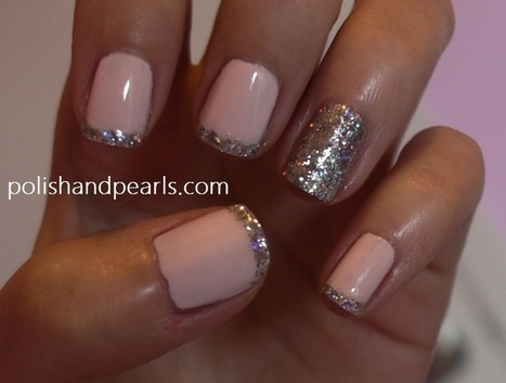 Three Easy New Year's Eve Nail Tutorials - Polish and Pearls | Nails and manicure | Scoop.it