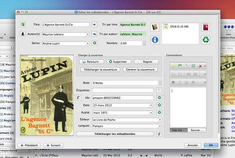 Gérez, convertissez et partagez vos ebooks avec Calibre | Mes ressources personnelles | Scoop.it