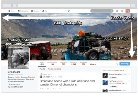 The New Twitter Profile Page: Complete Image Size Guide - AllTwitter | Social Media, the 21st Century Digital Tool Kit | Scoop.it