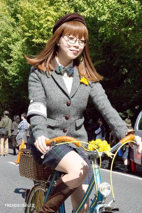 Tweed Run Tokyo 2014 • Trendbubbles | Fashion & Jewelry | Scoop.it