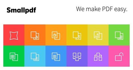 Smallpdf.com, la Solution Gratuite pour transformer vos fichiers | Animateur de communauté | Scoop.it