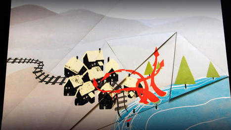 Origami Storytelling: A New Interactive Story Unfolds in This Book | UNcommonQuest! UNtraditional Marketing | Scoop.it