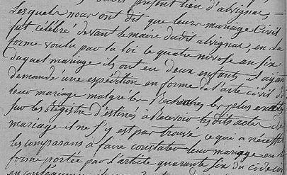 Un acte de mariage peu habituel... | Rhit Genealogie | Scoop.it