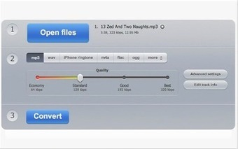 A Handy Google Drive App for Converting Audio Files ~ Educational Technology and Mobile Learning | AprendiTIC | Scoop.it