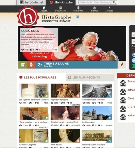 Un réseau social consacré à l'Histoire | Zap...d'arts! | Scoop.it