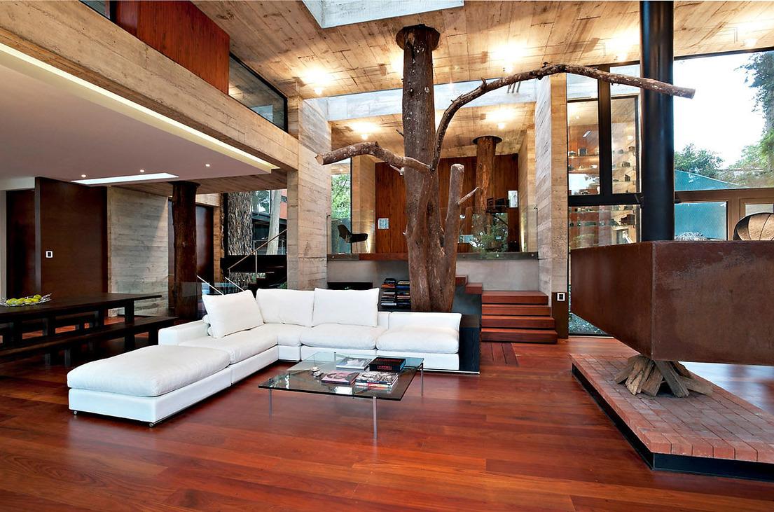 Corallo house interior architecture by paz arquitectura