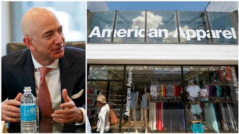 Amazon s'intéresserait de près à American Apparel | Made In Retail : L'actualité Business des réseaux Retail de la Mode | Scoop.it