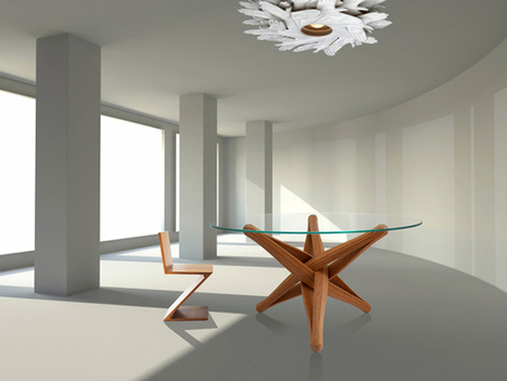 Lock - Bamboo Dining Table by J.P. Meulendijks | Art, Design & Technology | Scoop.it