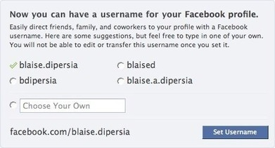 How to Create a Facebook Page Vanity URL | Social Media for Optometry | Scoop.it