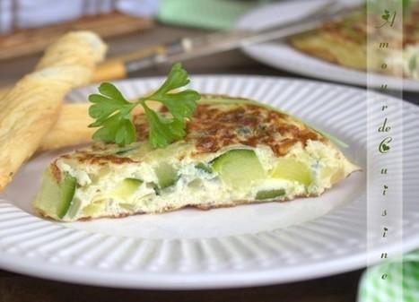 omelette espagnole ou tortilla aux courgettes | Cuisine Algerienne, cuisine du monde | Scoop.it