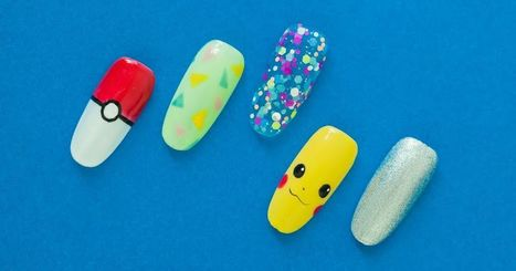 Nail artist endeavours to recreate all 151 Pokémon in adorable tiny artworks | iPhones and iThings | Scoop.it