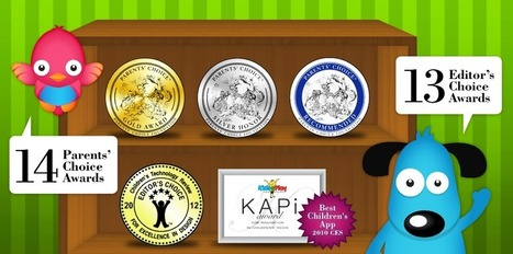 Duck Duck Moose educational iPhone iTouch, iPad Android apps for kids | Apps for Early Years | Scoop.it