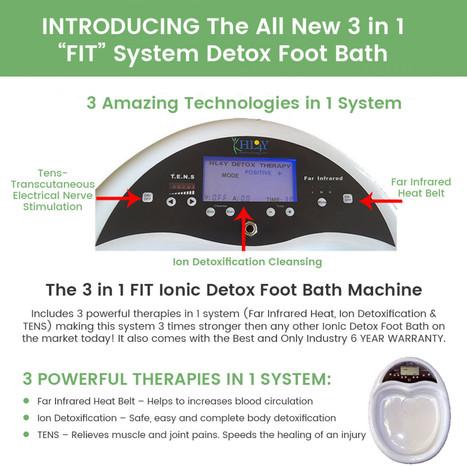 Ionic Detox Foot Bath In Ionic Detox Foot Bath Machine Scoop It