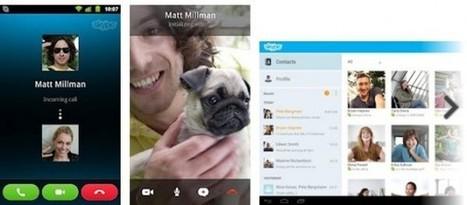 Skype anuncia la versión para tabletas Android | Teaching Foreign Languages | Scoop.it