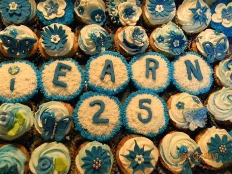 Beautiful cupcake tribute to #IEARN25 | iEARN in Action | Scoop.it