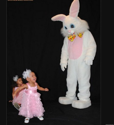Frighteningly Awkward Easter Photos | Strange days indeed... | Scoop.it