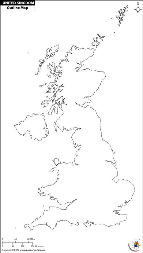 Map Of Uk For Printing.Uk Map For Print In Maps Scoop It