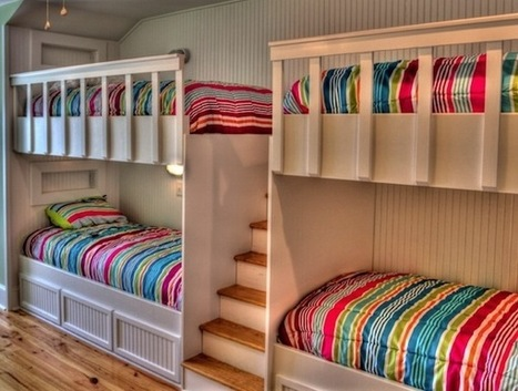 Choosing The Right Bunk Beds With Stairs For Your Children | Designing Interiors | Scoop.it