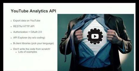 Google lanza la nueva API de YouTube Analytics | Social Network Analysis | Scoop.it
