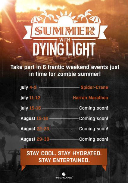 Dying Light summer weekend events kick off tomorrow | myproffs.co.uk- gaming news | Scoop.it