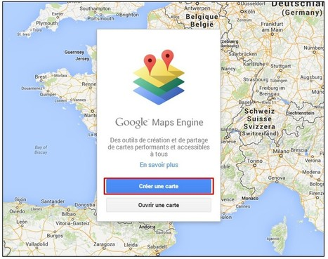 Tutoriel : créer une carte Google Map à partir d'une liste d'adresses | Rapid eLearning | Scoop.it