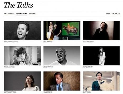 Conheça o TheTalks.com, um site para quem ama ler entrevistas | Cultural News, Trends & Opinions | Scoop.it