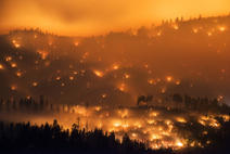 Photographer Chase Wildfires at Night-Time | Interesting Photos | Scoop.it
