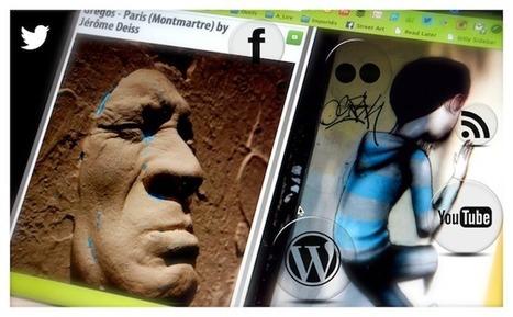 La digitalisation du street-art par les médias et réseaux sociaux | Social Business strategies | Scoop.it