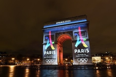 Paris 2024 Olympic bid slogan, Eiffel Tower venue renderings unveiled | Brand Marketing & Branding | Scoop.it