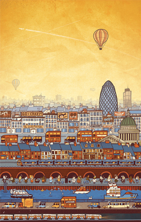 A View of London by Sam Bevington | Art, photography, design, tech, culture & fashion | Scoop.it