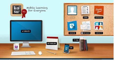 KO-SU - Plataforma de Aprendizagem Móvel | Teachelearner | Scoop.it