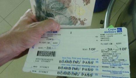 Ne publiez jamais une photo de votre billet d'avion sur les réseaux sociaux | Tout sur le Tourisme | Scoop.it