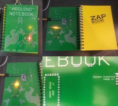 Arduino notebook cover makes it easy to tinker anywhere | Maker Stuff | Scoop.it