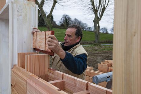 Avec ce kit DIY, on peut construire sa maison passive... avec des briques en bois   Innovation dans l'Immobilier, le BTP, la Ville, le Cadre de vie, l'Environnement...   Scoop.it
