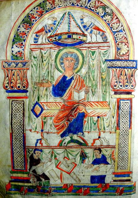 La couleur du corps dans l'image médiévale : Le Missel de Troyes, Paris, B.n.F., Latin 818 (Vers 1060) | Circé. Histoires, Cultures & Sociétés | Merveilles - Marvels | Scoop.it