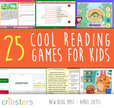 25 Cool Reading Games For Kids: The Ultimate List! | Tools for  Teaching | Scoop.it