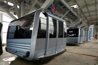 La société grenobloise Poma démarre les tests du plus long téléphérique urbain de France