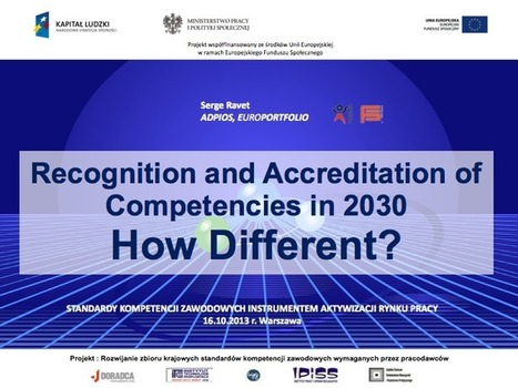 Recognition and Accreditation of Competencies in 2030: How Different? | Europortfolio | about ePortfolios | Scoop.it
