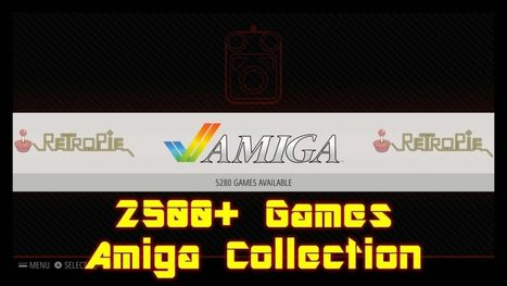 Largest Amiga Gaming Collection - Raspberry Pi