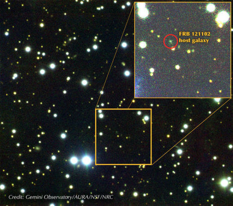 Astronomers Pinpoint the Location of Multiple Weird Radio Bursts Beyond Our Galaxy | Amazing Science | Scoop.it