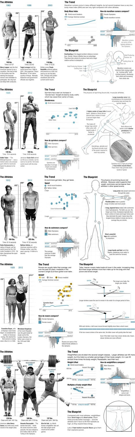 The Physics Of Olympic Bodies   HealthSmart   Scoop.it