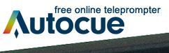 Free Teleprompter On-line - Autocue QTV | Serious Play | Scoop.it