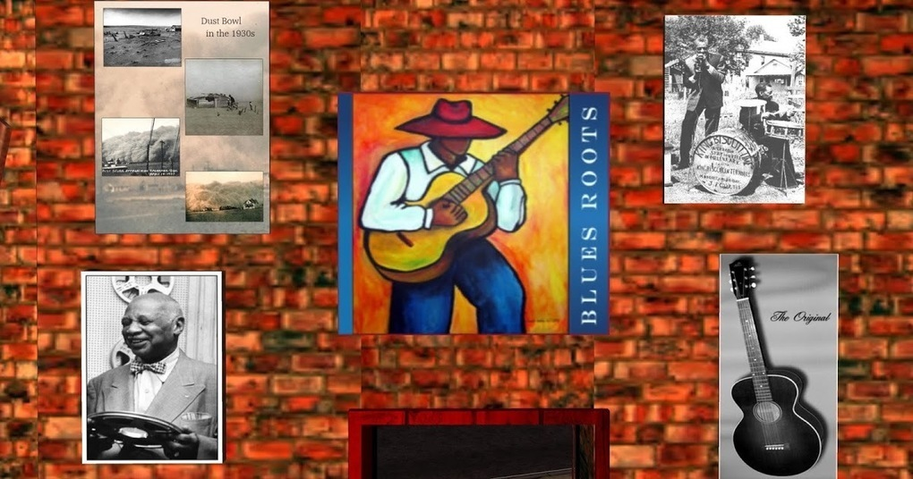 Blues Museum, Rebeck - Second Life
