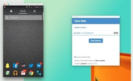 L'écran de votre Android sur votre PC avec Vysor | TUICE_Université_Secondaire | Scoop.it