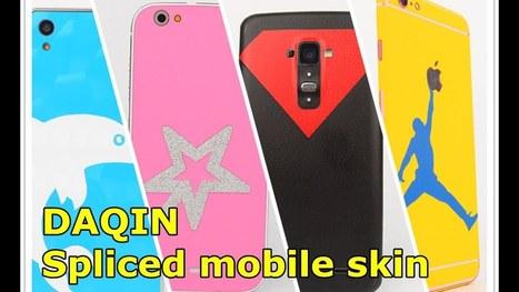 2 Typical Of Custom Phone Skins In Daqin Cust