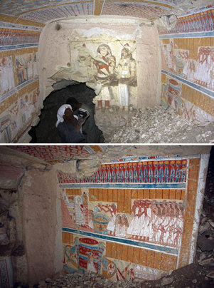 Tomb of the Goddess' Brewer | Egyptology and Archaeology | Scoop.it