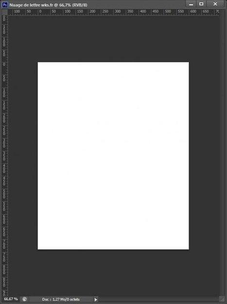 Créer un nuage de lettres avec Photoshop | Photoshop : tutoriels et ressources | Scoop.it