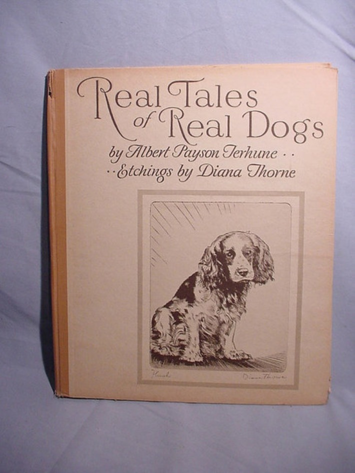 Most Charming Dog Book You'll See Real Tales of Real Dogs Terhune Diana Thorne | Antiques & Vintage Collectibles | Scoop.it