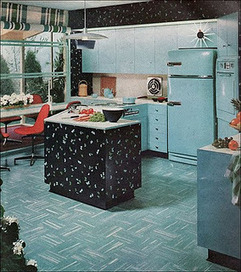 Vintage Clothing Love: Vintage Kitchen Colors | Vintage Kitchens | Scoop.it
