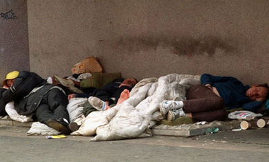 Homeless charity blitzed by eurozone immigrants | Race & Crime UK | Scoop.it